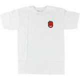 Spitfire Lil Bighead Fill T-Shirt - Size: X-LARGE White/Red | Universo Extremo Boards Skate & Surf