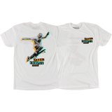 Street Plant Never Comply T-Shirt - X-SMALL White | Universo Extremo Boards Skate & Surf