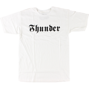 Thunder Evil T-Shirt - Size: SMALL White/Black