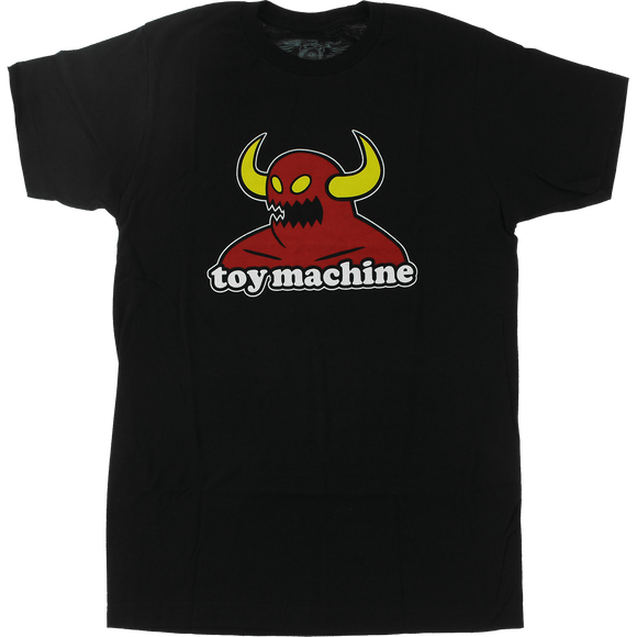 Toy Machine Monster T-Shirt - Size: SMALL Black