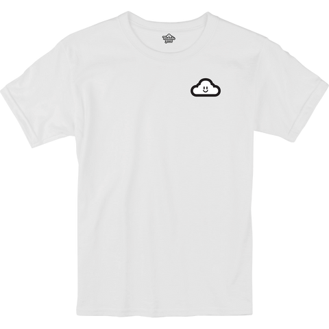 Thank You Cloudy T-Shirt - Size: SMALL White