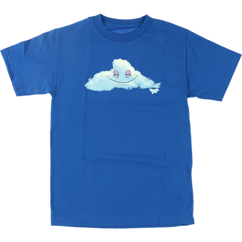 Thank You Head In The Clouds T-Shirt - Size: SMALL Blue