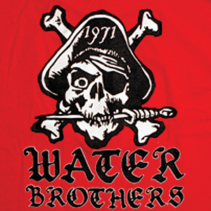 Water Brothers Pirate T-Shirt - Size: LARGE Black