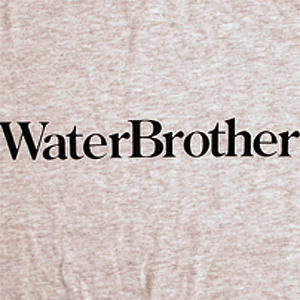 Water Brothers Type T-Shirt - Size: MEDIUM Black