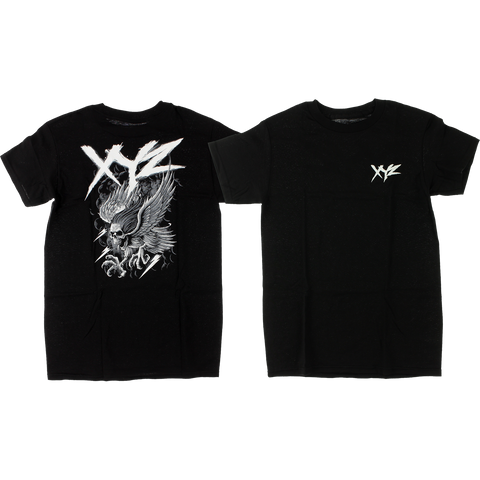 XYZ Bolt T-Shirt - Size: SMALL Black
