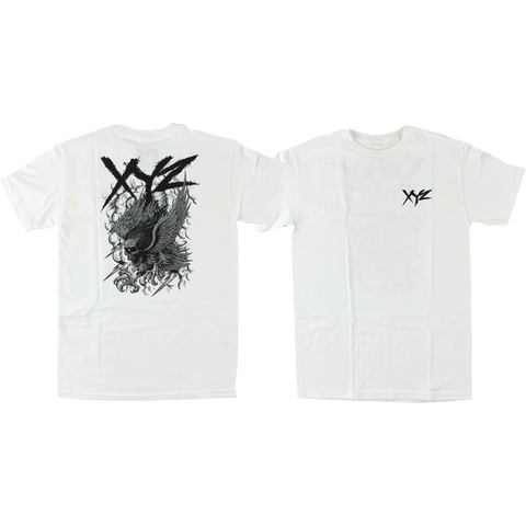 XYZ Bolt T-Shirt - Size: SMALL White