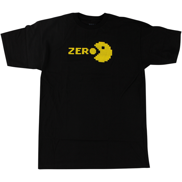 Zero Chomp T-Shirt - Size: X-LARGE Black/Yellow