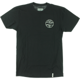 Zoo Kings Unbreakable Emblem Short Sleeve S-Black T-Shirt  | Universo Extremo Boards Skate & Surf
