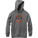 Cliche Heritage Devil Worship Hooded Sweatshirt - X-LARGE Charcoal | Universo Extremo Boards Skate & Surf