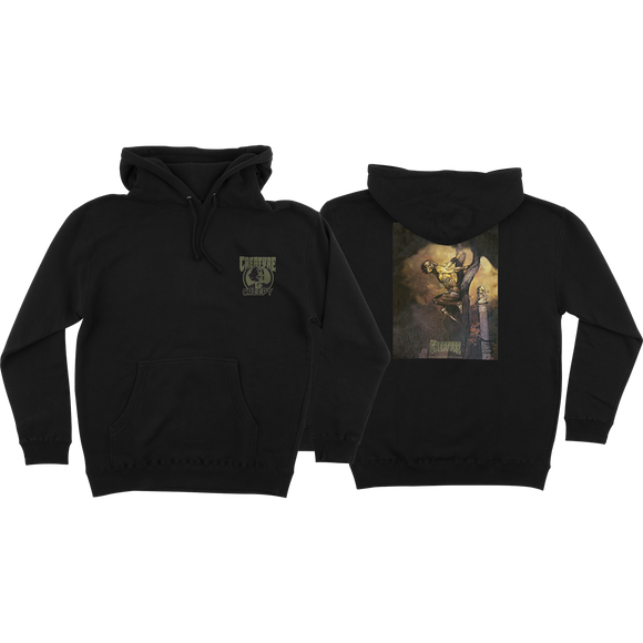 Creature Creepy Eternity Hooded Sweatshirt - X-LARGE Black