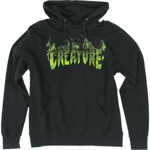 Creature Inferno Hooded Sweatshirt - SMALL Black | Universo Extremo Boards Skate & Surf