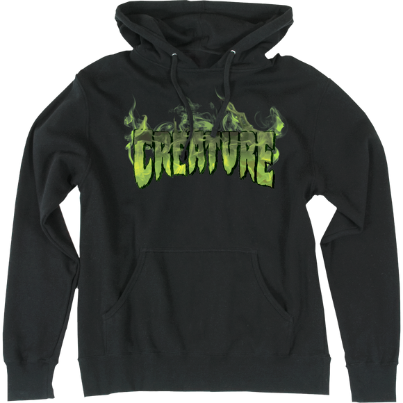 Creature Inferno Hooded Sweatshirt - X-LARGE Black | Universo Extremo Boards Skate & Surf