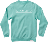 Sweatshirt Diamond Future Crew L-Diamond Blue/White - Universo Extremo Boards