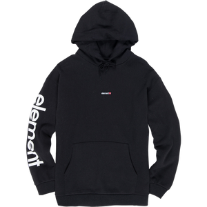 Element Primo Big Ho Hooded Sweatshirt - MEDIUM Flint Black