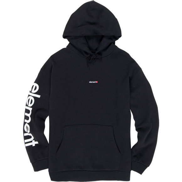 Element Primo Big Ho Hooded Sweatshirt - X-LARGE Flint Black