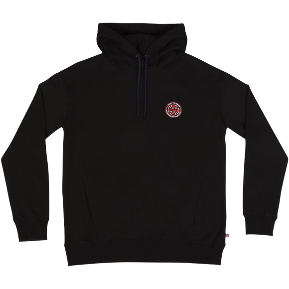 Independent Btgc Patch Hooded Sweatshirt - SMALL Black