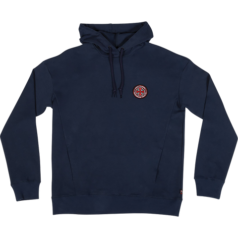 Independent Btgc Patch Hooded Sweatshirt - LARGE Navy