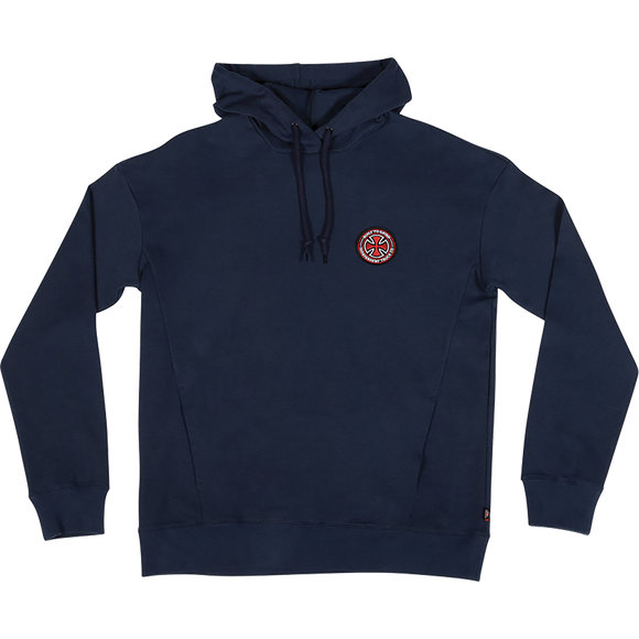 Independent Btgc Patch Hooded Sweatshirt - X-LARGE Navy