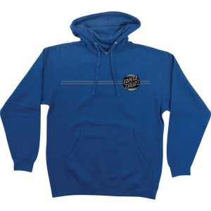 Santa Cruz Serape Dot Hooded Sweatshirt - LARGE Royal Heather | Universo Extremo Boards Skate & Surf