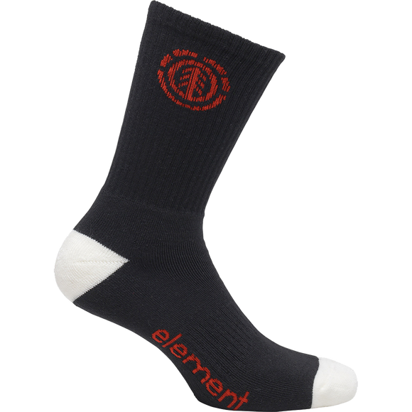 Element Primo Socks Flint Black - Single Pair