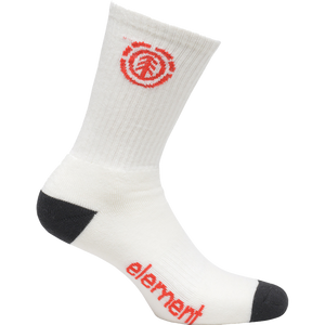 Element Primo Socks Off White - Single Pair