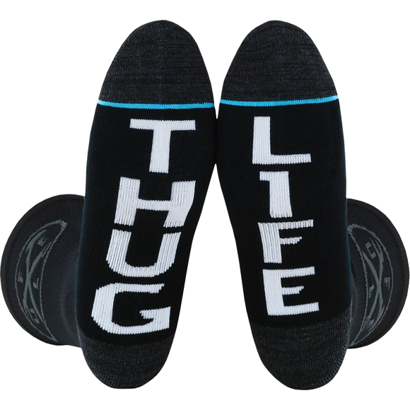 Fuel Standard Crew Socks Iron Cross Thug Life - Single Pair
