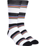 Kurb Half Cushion Crew Variegated Stripe White (Men's) | Universo Extremo Boards Skate & Surf
