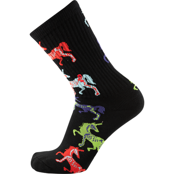 Psockadelic Dead Corn Crew Socks - Single Pair