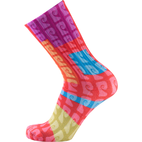 Psockadelic Hyper Crew Socks - Single Pair