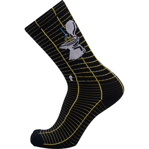 Psockadelic Metal Up Crew Socks - Single Pair