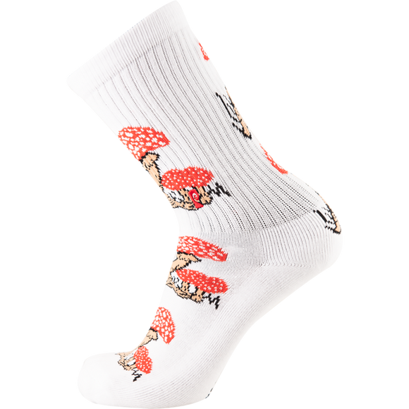 Psockadelic Mushroom Picker Crew Socks - Single Pair