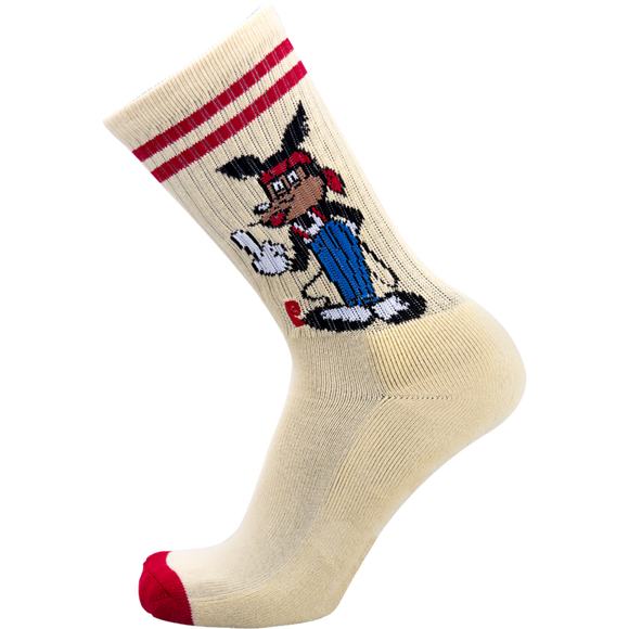 Psockadelic Rickey Mouse Crew Socks - Single Pair