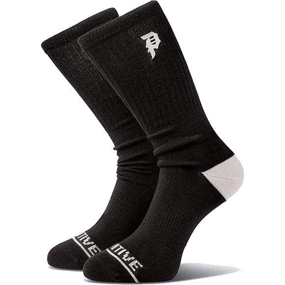 Primitive Core Dirty P Crew Socks Black/White