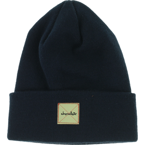 Chocolate Work Beanie Navy Blue