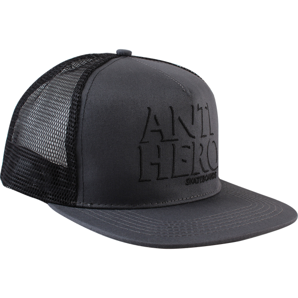 Antihero Drophero Trucker Mesh Skate HAT - Adjustable Grey