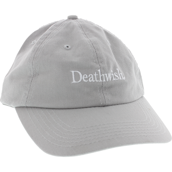 Deathwish Too Much Skate HAT - Adjustable Silver