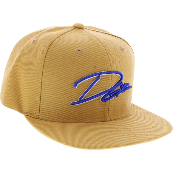 DGK Scroll Skate HAT - Adjustable Tan
