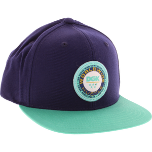 DGK Worldwide Skate HAT - Adjustable Navy/Green