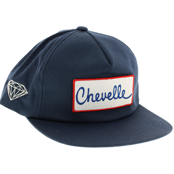 Diamond X Chevy Chevelle Super Sport Skate HAT - Adjustable Navy
