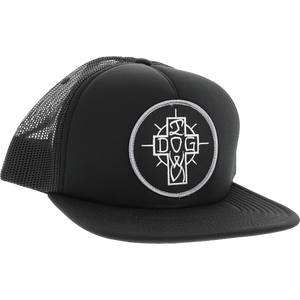 Dogtown Ese Cross Patch Mesh HAT Adjustable Black