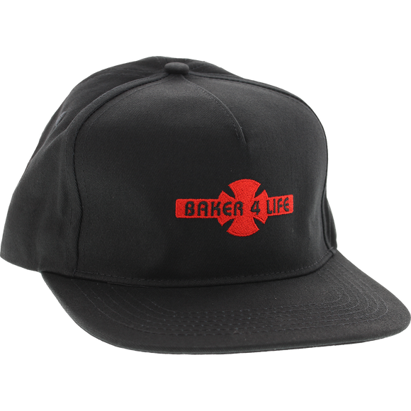 Independent Baker 4 Life Skate HAT - Adjustable Black