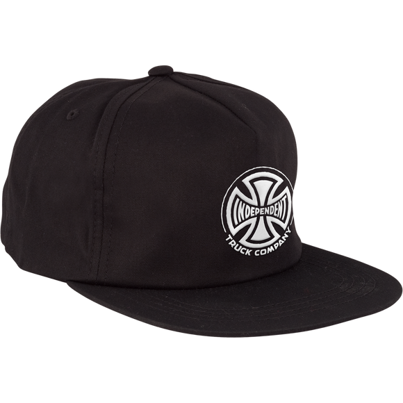 Independent Truck Co. Embroidery Strapback Adjustable Black