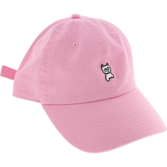 Meow Unstructured Mini Cat Skate HAT - Adjustable Pink