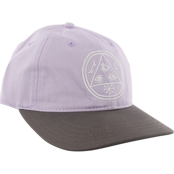 Welcome Basic Witch Skate HAT - Adjustable Lavender/Charcoal