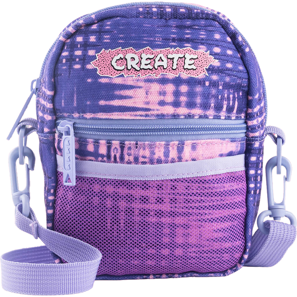 Bumbag Compact Create Skateboards Purple Shoulder Bag Shoulder Bag