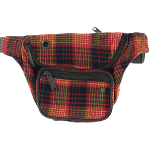 Bumbag Deluxe Willis Kimbel Red Plaid