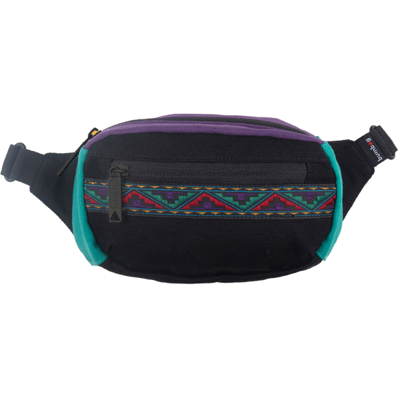 Bumbag Mini Java Black W/Ribbon Fanny Pack