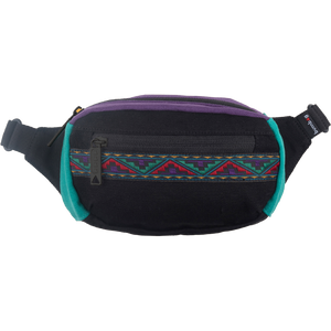 Bumbag Mini Java Black W/Ribbon Fanny & Hip Packs