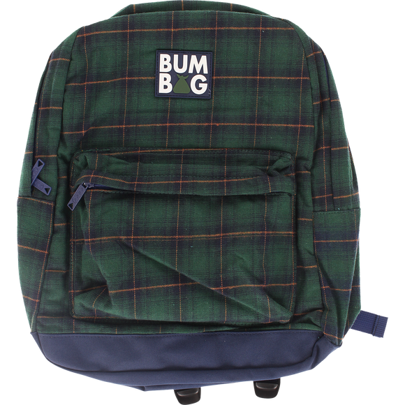 Bumbag Scout Backpack Flanders Green Plaid