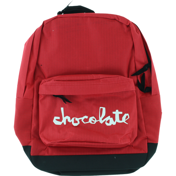 Chocolate Chunk Backpack Red Backpack